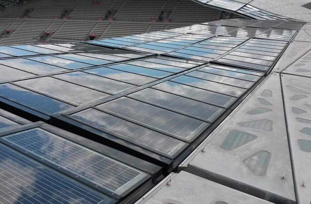 Panneaux photovoltaïques par Verrières du Nord