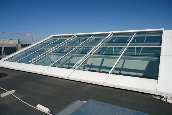 verrières aluminium mono-pente trapézoïdale par Verrières du Nord