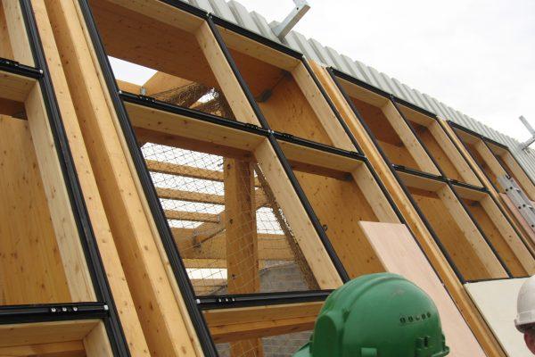 Verrières et murs-rideaux Verrière sur structure en bois résineux par Verrières du Nord